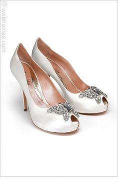 Zapatos de novia de Aruna Seth.