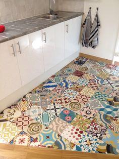 Carreaux ciment patchwork - carreauxdeciment.fr | kitchens ...