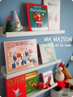季節の本を飾る子供部屋 - select my life