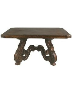 Marseilles Dining Table - Fine Dining Room Tables - Dining Room