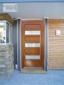 kommerling front door exclusive design golden oak x mm no reserve