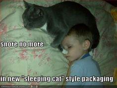 snore no more...