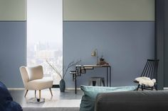 Dulux Colour Futures 17 - COTY - Living and work space - Denim Drift