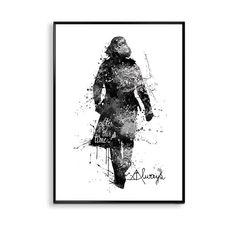 Alan Rickman Severus Snape Always Harry Potter print, Alan Rickman Poster…