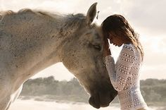 Exceedingly Beautiful. Human-Animal connections. ♥ #Horse #Love #Photography