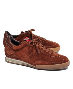 Pantofola D'Oro Suede Soccer Sneaker - Brooks Brothers