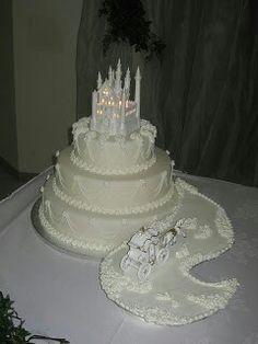 Castle Wedding cake