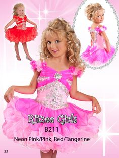 Wholesale Girls Pageant Dresses - Buy Graceful TODDLER PAGEANT DRESS Cupcake PAGEANT GOWN Beaded Bodice FLORAL SLEEVES Ruffled Short Organza Skirt Girl's Formal Wear 2014 AS35, $69.49 | DHgate.com