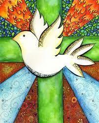 Dove and Cross - reminds me of my mom