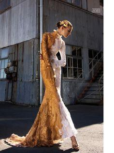 Ruby Jean Wilson Charms in Gold Looks for Karen Magazine #14