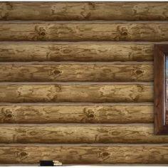"Williston Forge Mullaney Brick 33' L x 20.5"" W Wallpaper Roll | Wayfair Log Wallpaper, Metallic Wallpaper, Embossed Wallpaper, Textured Wallpaper, Log Cabin Siding, Log Cabin Homes, Log Cabin Bedrooms, Log Cabins, Fawley"