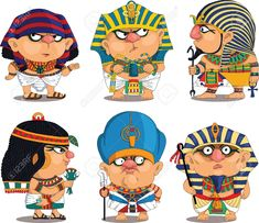 Find Cartoon Vector Set Funny Egyptian Pharaohs stock images in HD and millions of other royalty-free stock photos, illustrations and vectors in the Shutterstock collection. Cartoon Cartoon, Bible Cartoon, Kids Cartoon Characters, Cartoon People, Couple Cartoon, Cute Characters, Egyptian Pharaohs, Egyptian Art, Toy Art