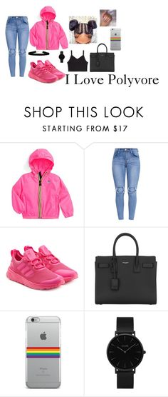 """Untitled #58"" by fashionnmia on Polyvore featuring K-Way, adidas Originals, Yves Saint Laurent and CLUSE"