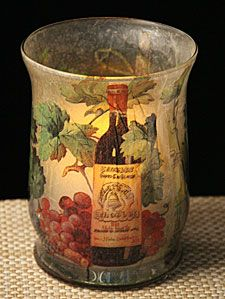 Check out the deal on Tuscan Decorative Hurricane Candle and Votive  Holder at Battery Operated Candles