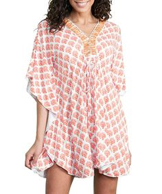 Look what I found on #zulily! Orange Crush Cover-Up - Women by Cabana Life #zulilyfinds