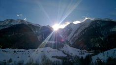 This morning in Swiss Alps - Fresh snow last night! #SwissAlps #Switzerland