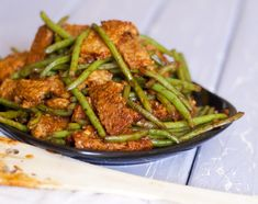 High protein vegan options. Sriracha Tempeh and Green Beans: Less Than 6 Ingredients Recipe — Fo Reals Life