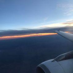 Flying. Again.