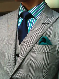 Love textures and colors used! #menswear #fashion