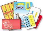 Building number sense with 10 frames. Purchase cards and teaching tools here.
