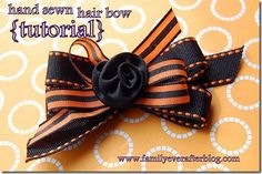 I love to make bows! So here are 15 adorable kids hair bows complete with pictured tutorials. It's the easiest way to learn how to make a hair bow for girls. Diy Ribbon Flowers, Flower Hair Bows, Ribbon Bows, Fabric Flowers, Ribbons, Ribbon Hair, Grosgrain Ribbon, How To Make A Ribbon Bow, How To Make Hair
