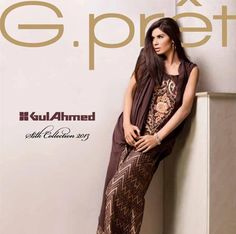 In Pakistan one of the famous textile brands is Gul Ahmed. In producing the top quality textile, Gul Ahmed includes in top companies in the Pakistan. Textile Mills of Gul Ahmed has obtained the international leading due to its outstanding quality of fresh, classy and stylish dresses.