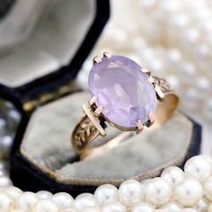 The ring was made a very long time ago, circa 1880-90, during the Victorian Period which is known for it's unique style and innovative designs!