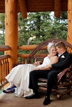 Buffalo Mountain Lodge, Banff, AB  Canadian Rockies, Wedding  Photo Credit: Orange Girl Photography