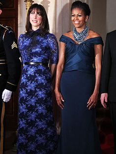 SamCam: Is that necklace chav or what?     Michelle: What's with the old lady dress? At least you are closer to matching me than Jill. I'm glad you got the memo.