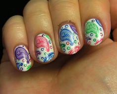 Colorful Paisley   tutorial BM315