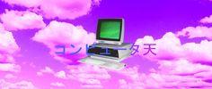 #vaporwave #computer #heaven #japanese #type #letters #clouds #sky https://www.instagram.com/d4xis/