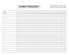 Habit Tracker Daily Planner Detailed free printable daily notes to do list Bullet Journal Tracker, Bullet Journal Books, Book Journal, Journal Paper, Free Wallpaper Backgrounds, Bullet Journal Aesthetic, Daily Planner Printable, Planner Organization, Free Printables