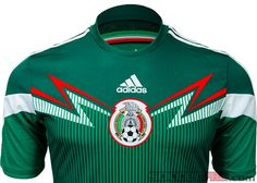 2014 adidas Mexico Home World Cup Jersey...all in for El Tri! Available at SoccerPro!