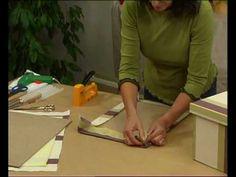 Aprende a tapizar una caja (2) - Curso de Monitor de Manualidades de CCC - YouTube