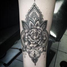 Fun forearm for Sarah! #tattoo #tattooed #tattoos #forearmtattoo #work #girlswithtattoos #tattooartist #artist #blacktattoo #art #dotwork #dotworktattoo by kaileelovetattoos