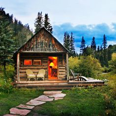 Dunton Hot Springs, Dolores, CO - Best Cabins for Getaways - Sunset Micoleys picks for #CabinGetaway www.Micoley.com