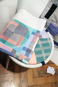 Gemma Kay Waggett's patchwork textiles