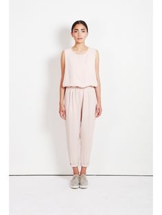 BEIGE jumpsuit x Oak and Fort