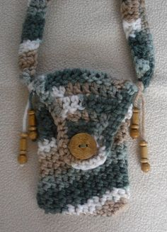 Cell Phone/Digital Camera Shoulder Purse by HoneyBeadsJewels on Etsy, $12.99