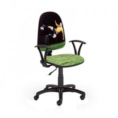 Работен стол ENERGY JUMP - Черен