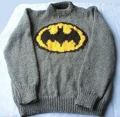 Batman jumper knitting pattern in DK . Jumper Knitting Pattern, Knitting Patterns, Online Price, Batman, Pullover, Best Deals, Sweatshirts, Boys, Sweaters