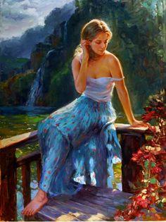 Por Amor al Arte: Las hermosas pinturas de Vladimir Volegov
