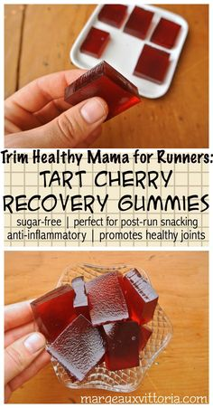 Trim Healthy Mama for Runners: Tart Cherry Gummy Candy   Margeaux Vittoria