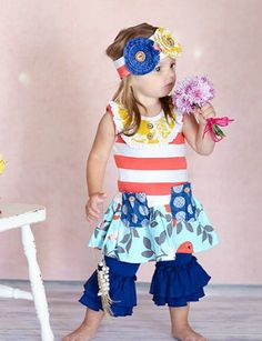 Giggle Moon New Song Mabel Dress w/Leggings 3 Months and 8 Years ONLY
