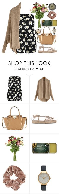 """""""My name's Daisy by the way"""" by shanelala ❤ liked on Polyvore featuring Valentino, Chloé, OKA, Dr. Bronner's, Topshop, Olivia Burton and Hermès"""