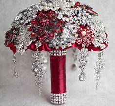 Brooch bouquet, Wedding Bouquet, Bridal Bouquet, Broach Bouquet, Crystal Bouquet, Jewelry Bouquet, S Crystal Bouquet, Wedding Brooch Bouquets, Broschen Bouquets, Bridesmaid Corsage, Alternative Bouquet, Bridal Flowers, Marie, Weddings, Wedding Meals