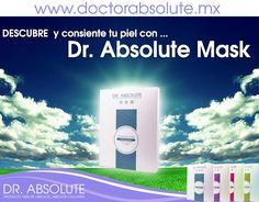 Dedícale 15 minutos a tu piel, no te arrepentirás con DR. Absolute Mask