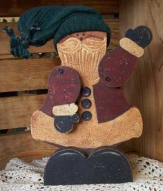 Free santa scroll saw patterns - Merry Christmas to All