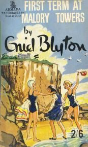 I was in love with those books while growing up! all five of them - malory towers by enid blyton Free Books, Good Books, My Books, Enid Blyton Books, Ladybird Books, Children's Book Illustration, Book Illustrations, Books For Teens, Vintage Children's Books