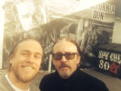 Tommy Flanagan and Charlie Hunnam | Sons of Anarchy